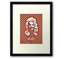 Icons - Dolly Parton Framed Print