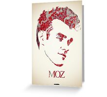 Icons - Morrissey Greeting Card