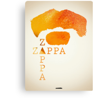 Icons - Frank Zappa Canvas Print