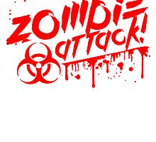 Zombie attack blood biohazard risk by Style-O-Mat