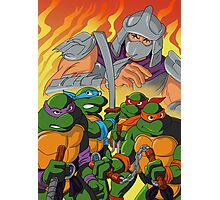 TMNT HEROES IN THE HALF SHELL Photographic Print