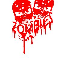 Skull party team friends crew blood by Style-O-Mat