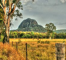 Timor Rock in the Warrumbungles by Michael Matthews