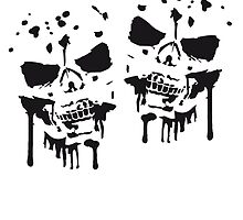 Party team crew blood skull by Style-O-Mat
