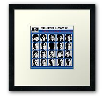 Sherlock- A Hard Day's Night  Framed Print