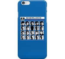 Sherlock- A Hard Day's Night  iPhone Case/Skin