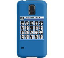 Sherlock- A Hard Day's Night  Samsung Galaxy Case/Skin