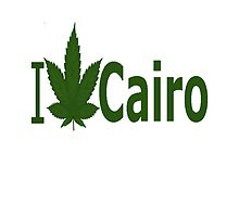 I Love Cairo by Ganjastan