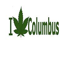 I Love Columbus by Ganjastan