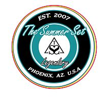 The Summer Set Logo  by Lucie Jayne Bates