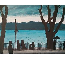 Evening lake Photographic Print