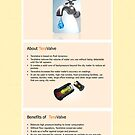 TeraValve – An Innovative Water Saving Device by Infographics
