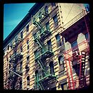 Escapes, NYC by crashbangwallop