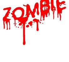 Zombie blood splatter, bloody by Style-O-Mat