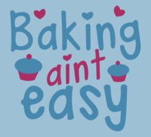 Baking aint easy with cute cupcakes Kids Clothes