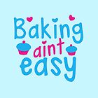 Baking aint easy with cute cupcakes by jazzydevil