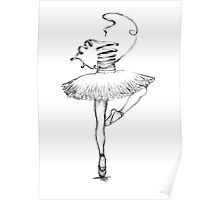 ribbon dancer Poster