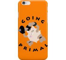 Going Primal iPhone Case/Skin
