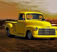 1953 Chevrolet Custom Pick Up 2 by DaveKoontz