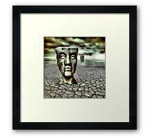 In The Land Of The Flatheads Framed Print