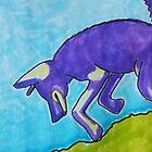 Coyote Dancing 1 by carol selchert