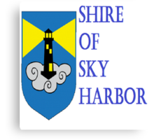 Shire of Sky Harbor Canvas Print