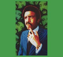 Richard Pryor Comic Genius in Sharpie by JMCSharpieArt