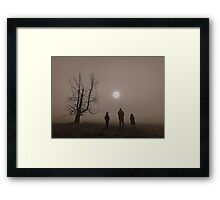 sun gazers Framed Print