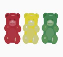 Gummy Bears, stop, set, go! by underwatercity