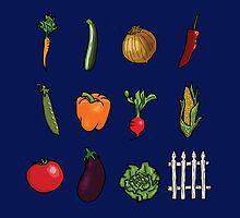 Vegetable Garden by Emma  Mazzuca