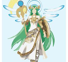 Palutena Takes Flight by ZaneBerry