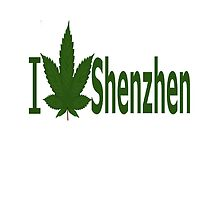 I Love Shenzhen by Ganjastan