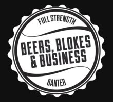 Beers, Blokes & Business Hoodie by sportsgeek