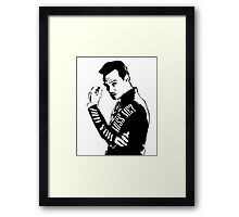 Moriarty- Did you Miss Me?  Framed Print