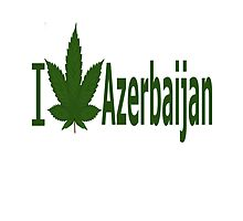 I Love Azerbaijan by Ganjastan