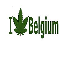 I Love Belgium by Ganjastan