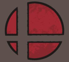 Super Smash Bros. Red Logo by allsystems182
