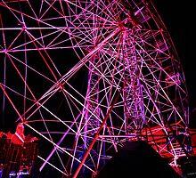 Ferriswheel of Death, Dark Mofo 2014  by eisblume