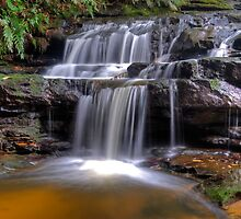 Leura Cascades by Peter Hocking