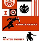 captain america: the winter soldier by glower