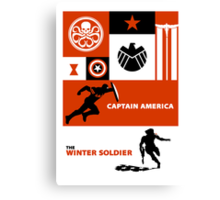 captain america: the winter soldier Canvas Print