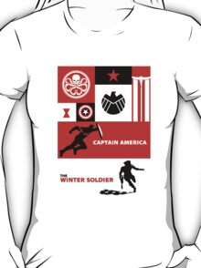 captain america: the winter soldier T-Shirt