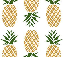 Pineapples (six) by diiazmarta