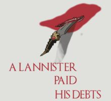 A Lannister Paid His Debts by Tatman3000