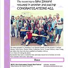 Dragonsabreast Newcastle/Hunter Newsletter 2014 front by KazM
