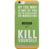 Bill Hicks - By The Way iPhone Case/Skin