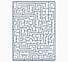 Maze in Blue by jumble