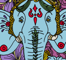 Ganesh in the Garden Sticker