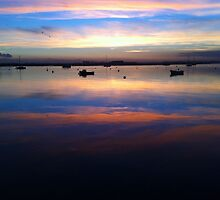 River Crouch Essex Sunset 4 by AriadneBlue