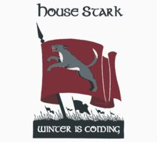 House Stark - Winter is Coming by cisnenegro